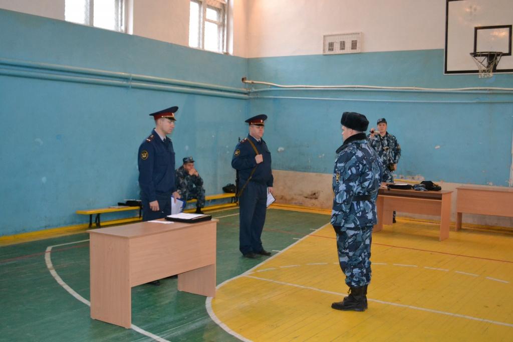 Конкурс начальников караула охраны