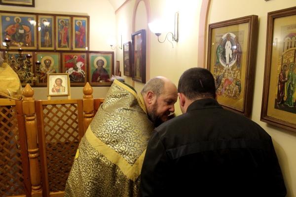 Праздничная литургия в храме ФКУ СИЗО-1