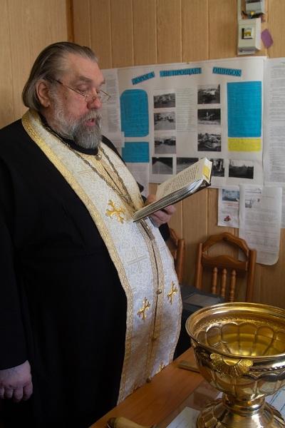 Священник Игорь Бойцов освятил помещения филиала уголовно-исполнительной инспекции на территории Валдайского района