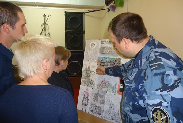 Конкурс православной живописи среди осужденных в ИК-9