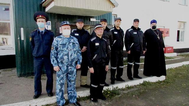 Открытие шахматного кружка в ФКУ ИК-4 УФСИН России по НО