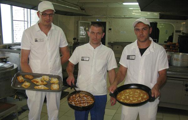 Кулинарный конкурс в ЛИУ-3